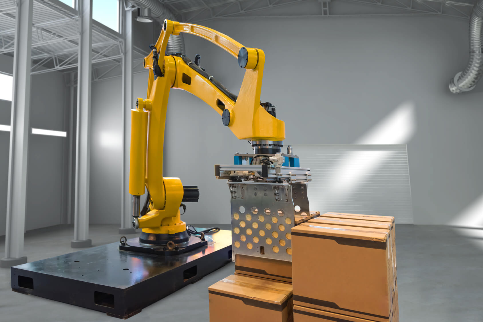 Roboter Industrie 4.0 Lager
