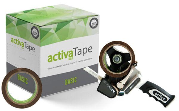 activaTape Basic - Paketklebeband braun 48mm x 66lfm