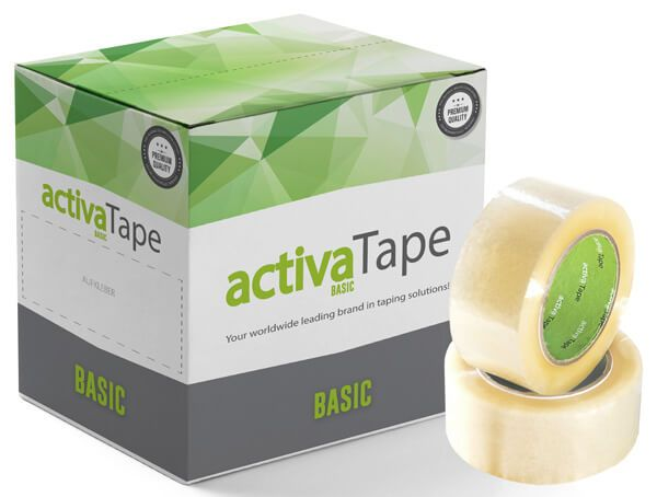 activaTape Basic - Packband transparent 48 mm x 132 lfm