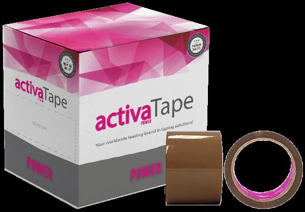 activaTape Power - Paketklebeband braun 72 mm x 66 lfm