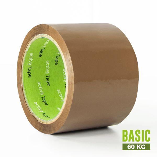 activaTape Basic 72 mm x 66 lfm braun