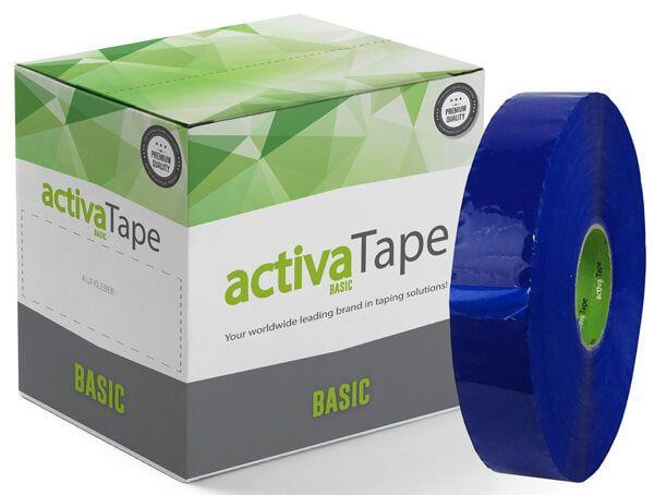 activaTape Basic - Maschinenklebeband Blau 48 mm x 990 Laufmeter