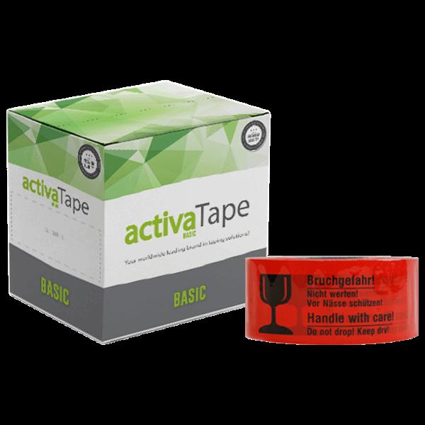 activaTape Basic LN - Bruchgefahr - 48mm x 66lfm