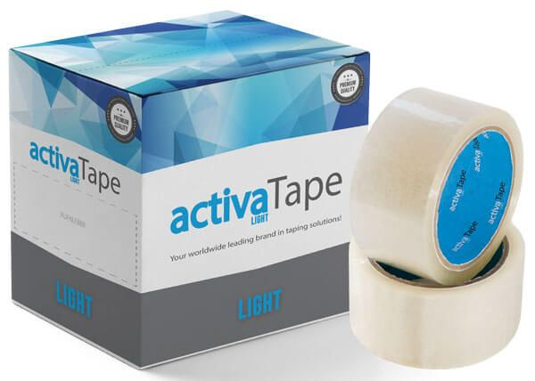 activaTape Light LN - Packband Low-Noise transparent 48mm x 66 lfm