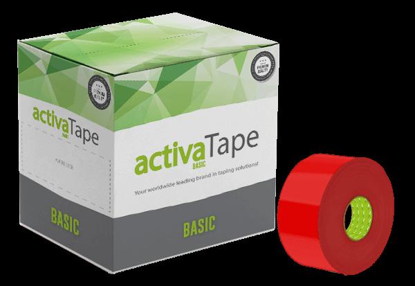 Rotes Klebeband 48mm x 150lfm - activaTape Basic