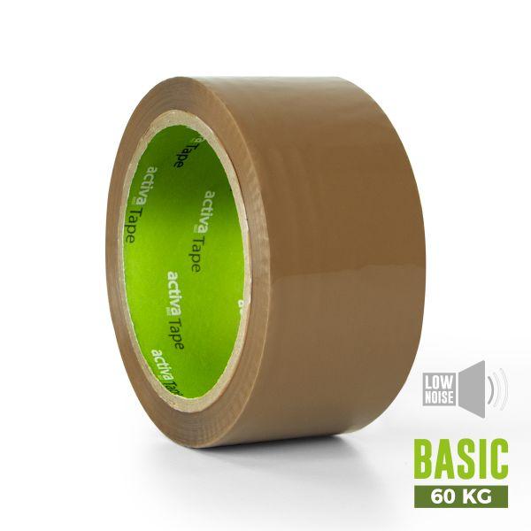 activaTape Basic LN 48 mm x 66 lfm braun