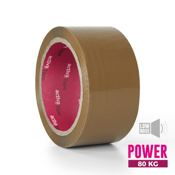 activaTape Power LN 48 mm x 66 lfm braun