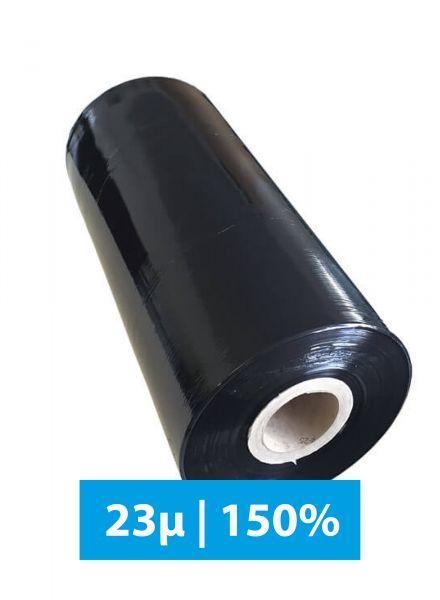 Maschinenstretchfolie 23µ 150% 1550lfm Schwarz