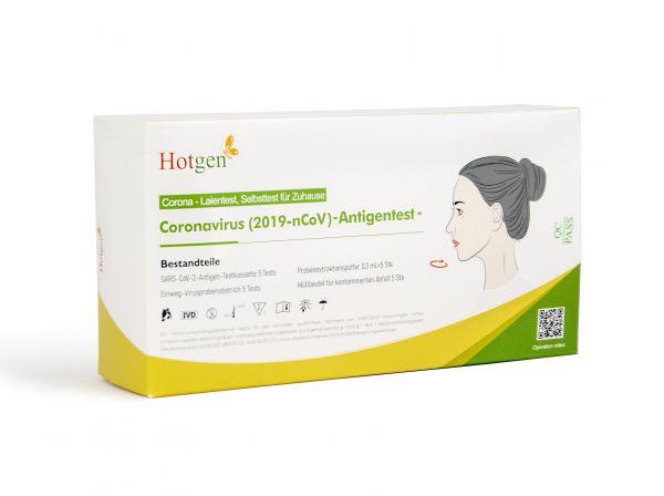 (5x) Hotgen - Coronavirus (2019-nCoV) Antigentest