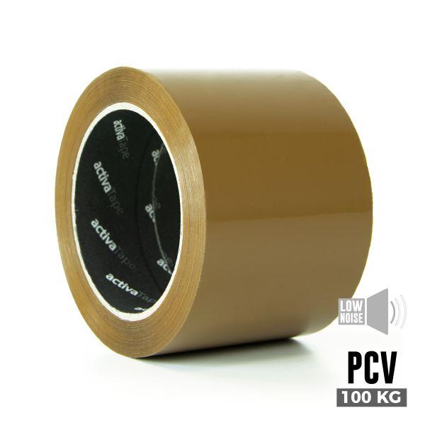 activaTape PCV 72 mm x 66 lfm braun