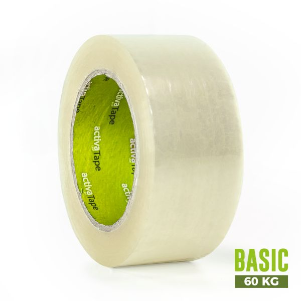 activaTape Basic 48 mm x 132 lfm transparent