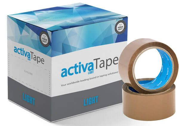 activaTape Light - Packband braun 48mm x 66 lfm