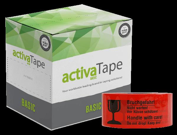 activaTec Basic - Paketklebeband Bruchgefahr 48 mm x 150 lfm