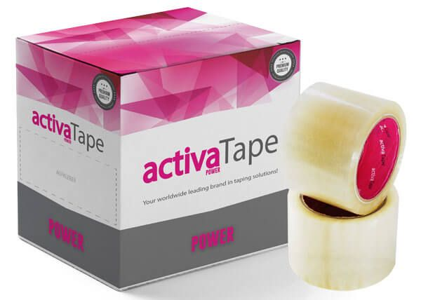 activaTape Power - Packband transparent 72 mm x 66 lfm