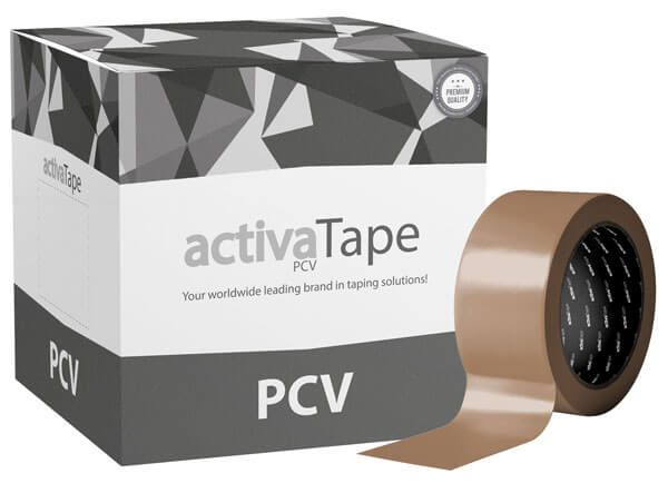 activaTape Power PCV - extrem starkes Klebeband braun