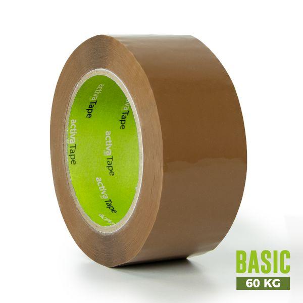 activaTape Basic 48 mm x 132 lfm braun
