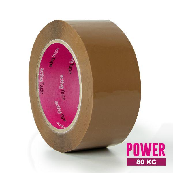 activaTape Power 48 mm x 132 lfm braun