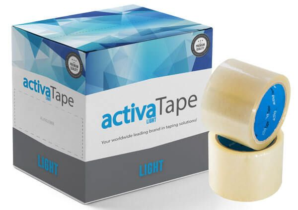 activaTape Light - Packband transparent 72 mm x 66 lfm