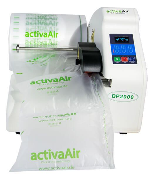 activaAir Light BP2000 Mini  - Luftpolstermaschine mit Luftkissenkissen