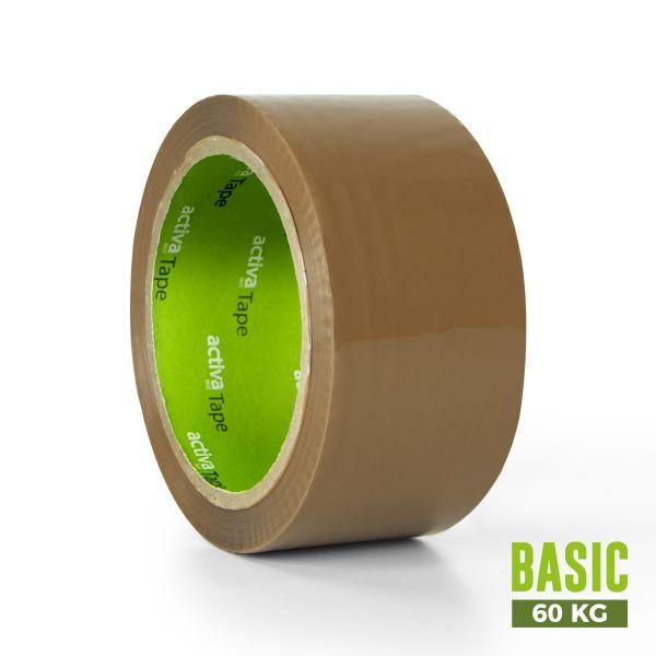 activaTape Basic 48 mm x 66 lfm braun