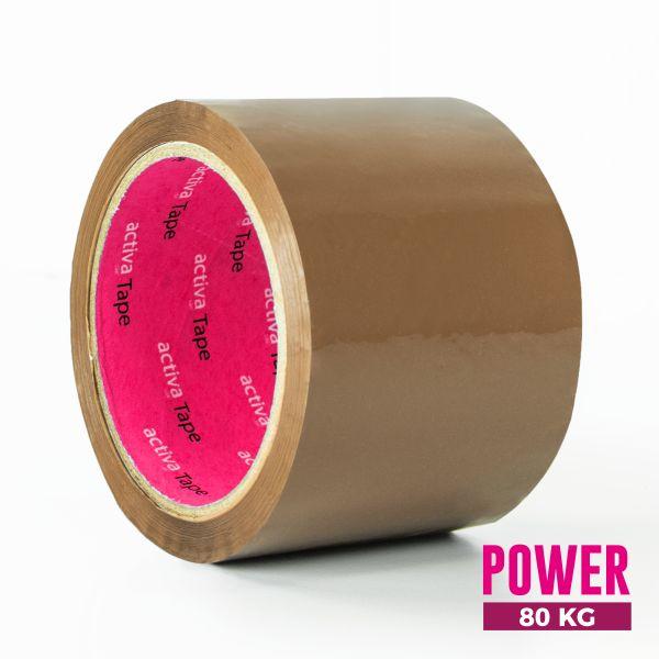 activaTape Power 72 mm x 66 lfm braun