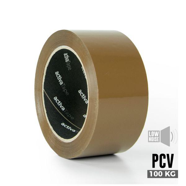 activaTape PCV 48 mm x 66 lfm braun